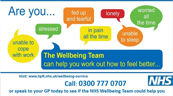The Wellbeing Team