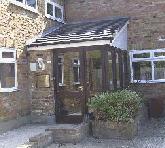 Front door of Little Bushey Surgery