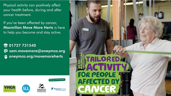 Activities for people affected by cancer